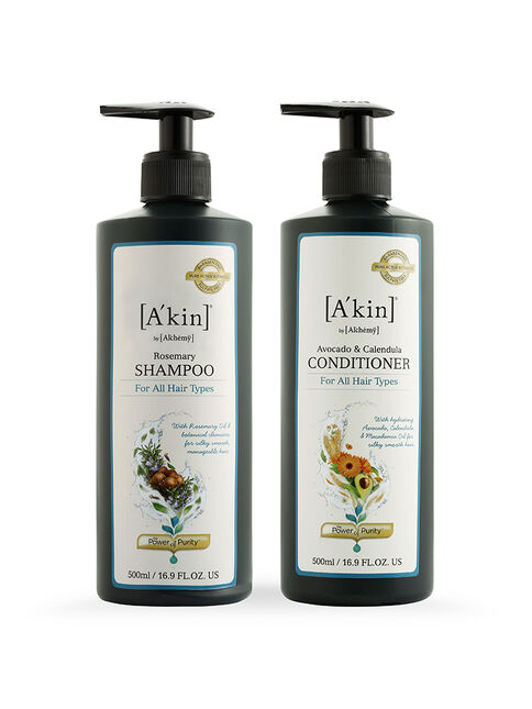 Duo 500ML Daily Shine Rosemary Shampoo & Avocado & Calendula Conditioner