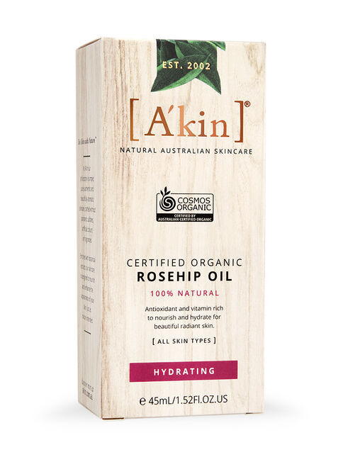Certified Organic Rosehip Oil 45ml