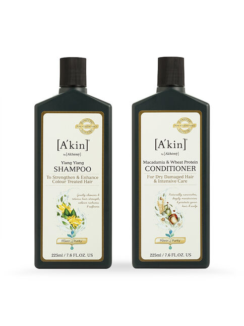 Duo 225ML Colour Protection Ylang Ylang Shampoo & Moisture Rich Macadamia & Wheat Protein Conditioner