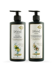Duo 500ML Colour Protection Ylang Ylang Shampoo & Moisture Rich Macadamia & Wheat Protein Conditioner