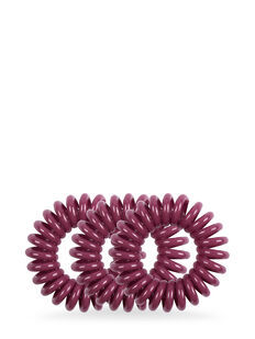 Style Guards Maroon Kink Free Spirals - 4 Pk