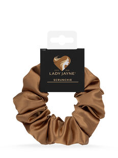 Cinnamon Satin Scrunchie - 1 Pk