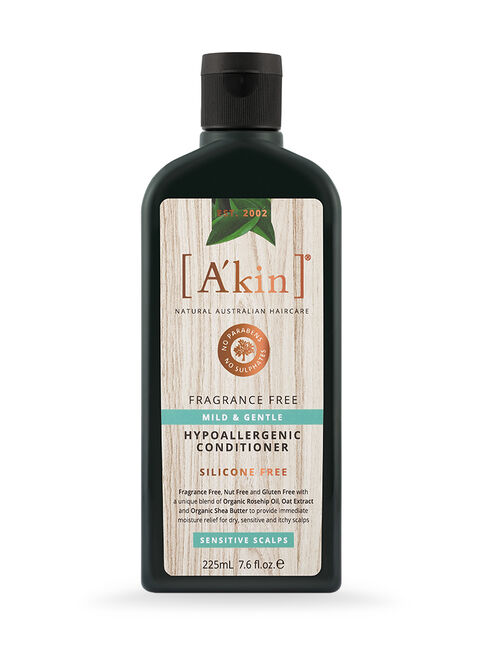 Mild & Gentle Fragrance Free Conditioner 225mL
