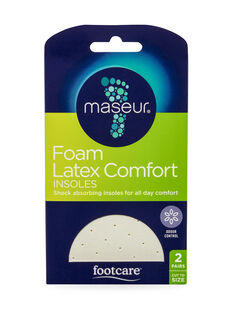 Foam Insoles, 2 pairs