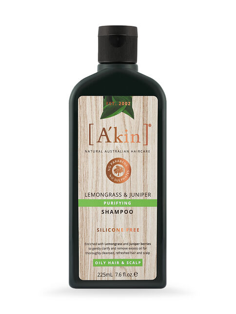 Purifying Lemongrass & Juniper Shampoo 225mL