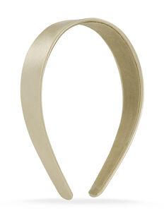 Thick Satin Headband - Champagne
