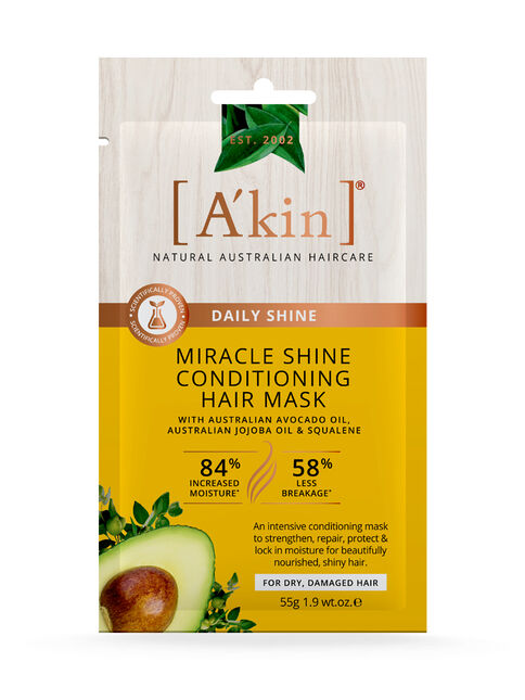 Hair Pamper Pack - Miracle Shine Conditioning Hair Mask 55g