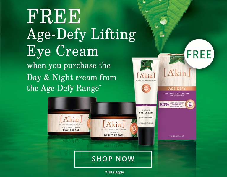 Free Eye Cream when you buy a Day & Night Cream from the Age-Defy range