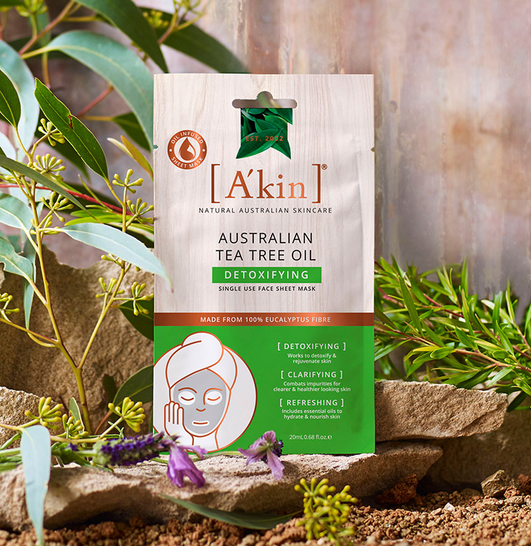 Australian Tea Tree Oil Detoxifying Face Sheet Mask