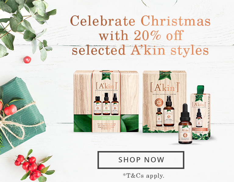20% off Xmas A'kin Gift Packs